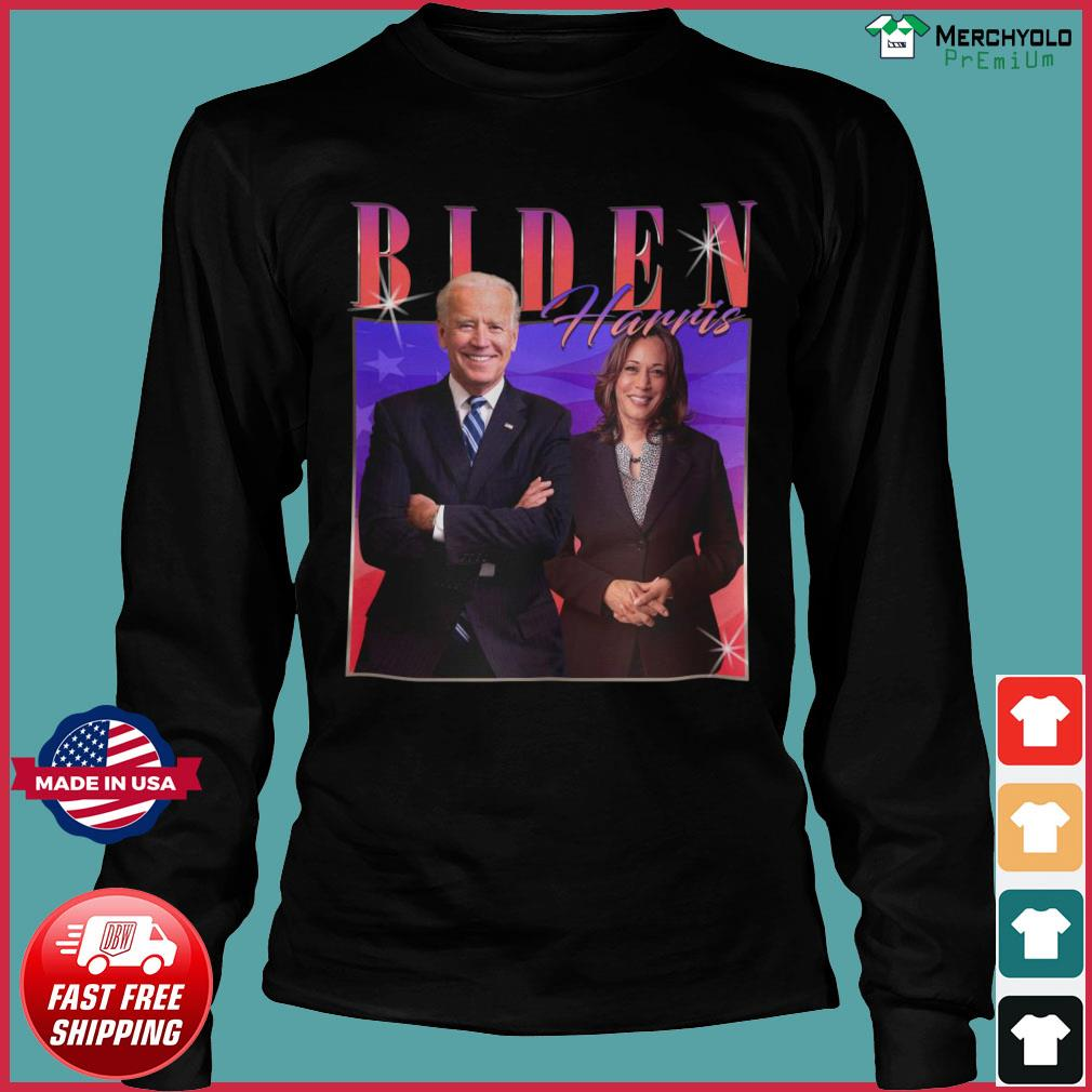 Vintage Biden Harris Homage Joe Biden Kamala Harris 2020 Shirt Long Sleeve